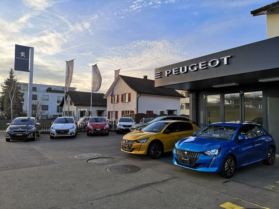 Auto Zimmerli GmbH Peugeot Vertretung in und um Rupperswil